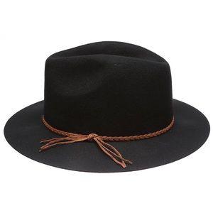 Free People x D&Y Cloche Floppy Fedora Wool Hat